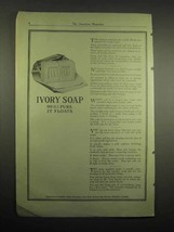1918 Ivory Soap Ad - 99% Pure It Floats - $14.99