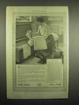 1918 Ivory Soap Ad - To Wash Blankets - $14.99