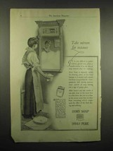 1917 Ivory Soap Ad - Take Mirrors For Instance - $14.99