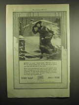 1917 Ivory Soap Ad - Enjoy The Winter - $14.99