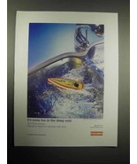 2005 Franke Kitchen Sink Ad - More Fun In The Deep End - $14.99