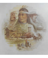Nancy Ward - Cherokee Nation by Ben Hampton 1976 - $1,675.00