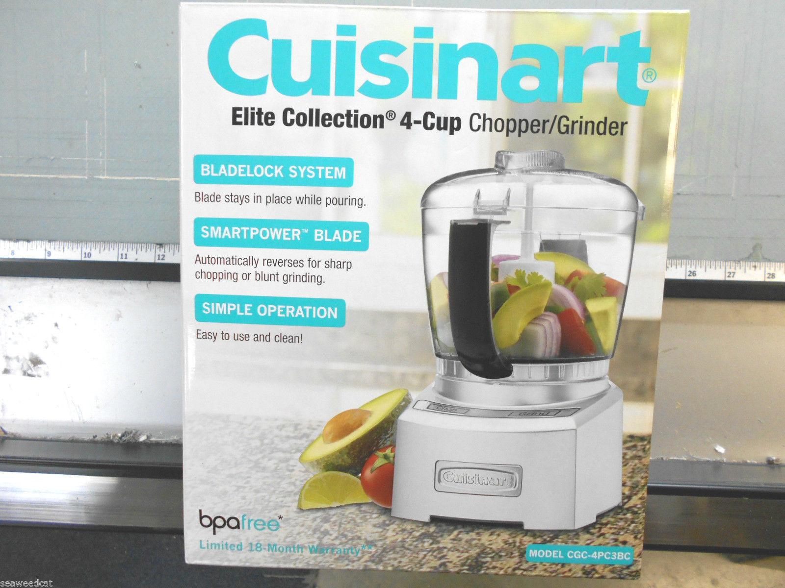 Cuisinart CH-4DC Elite Collection 4-Cup Chopper/Grinder, Die Cast