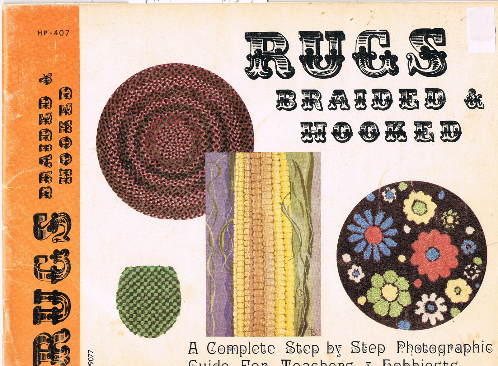 Vintage Book of Rugs Braided and Hooked to Make