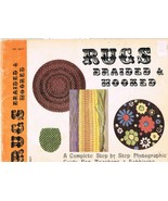 Vintage Book of Rugs Braided and Hooked to Make - $7.99