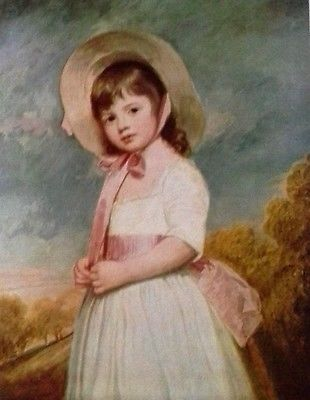 Miss Willoughby  (MINI PRINT) By George Romney
