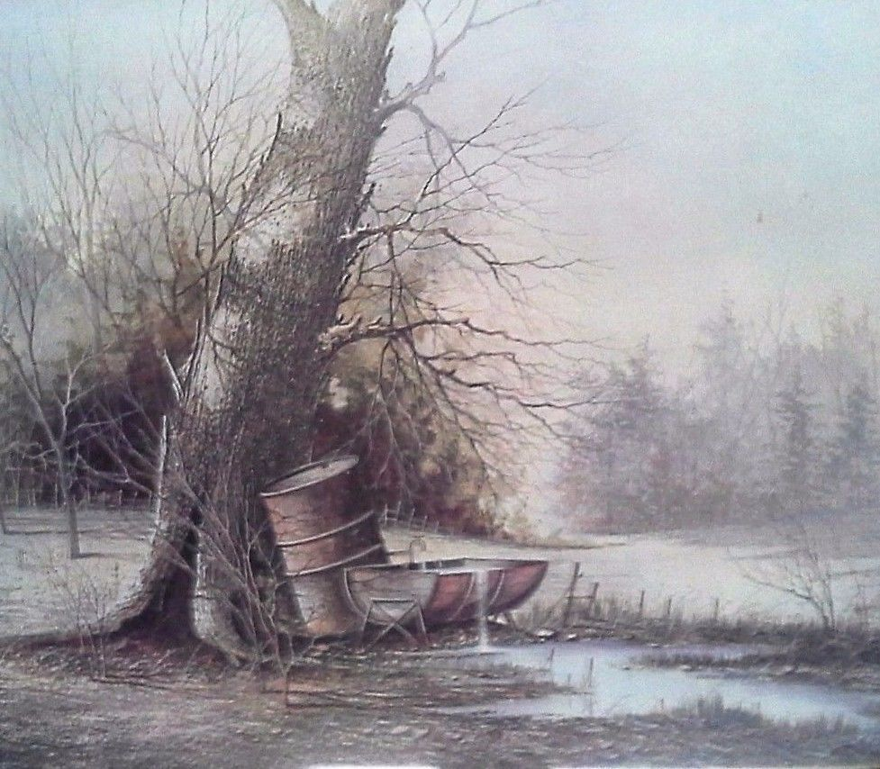The Water Hole By Milton Lenoir