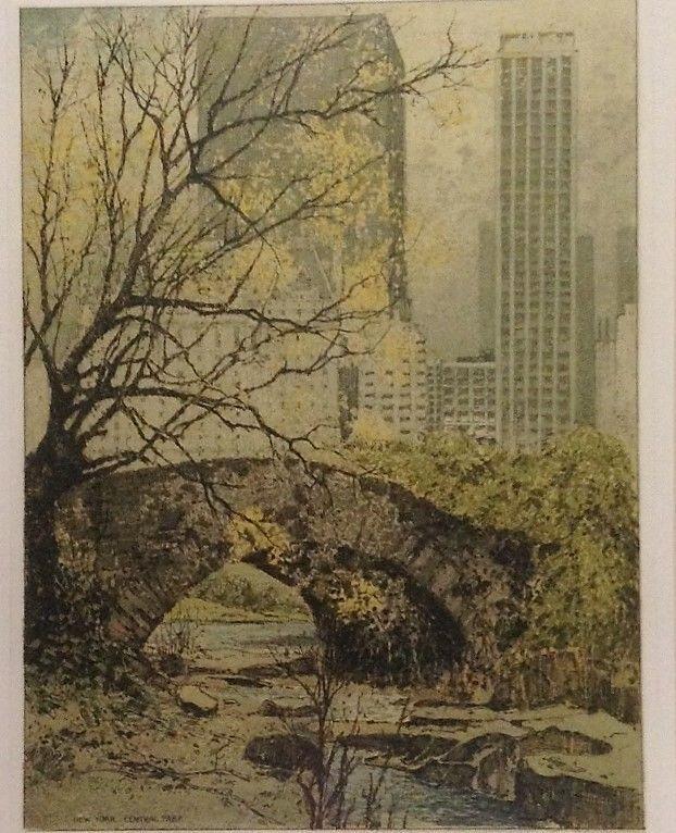 New York Central  Park By Josef Eidenberger