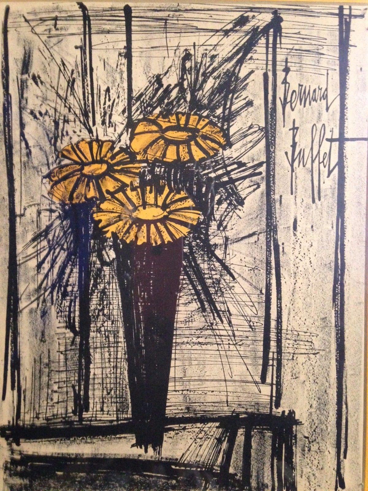 Flowers By Bernard Buffet