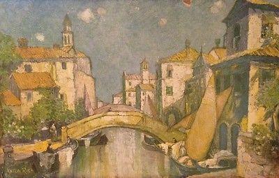 Venetian Silk Market by Anton Riga