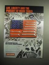 2000 Craftsman Hand Tools Ad - Life, Liberty Pursuit - $14.99