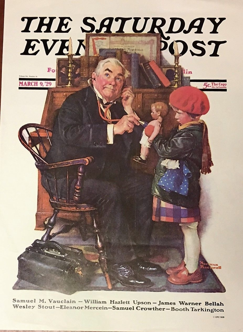 Saturday Evening Post  By Norman Rockwell