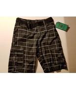 Machine Clothing Co.Boys Board Shorts Swim Shorts Trunks W Belt Size 16 ... - $15.99
