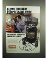 2000 Craftsman 175-Max PSI Air Compressor Ad - $14.99