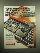 1999 Craftsman Speed-Lok Drill-Driver System Ad - $14.99