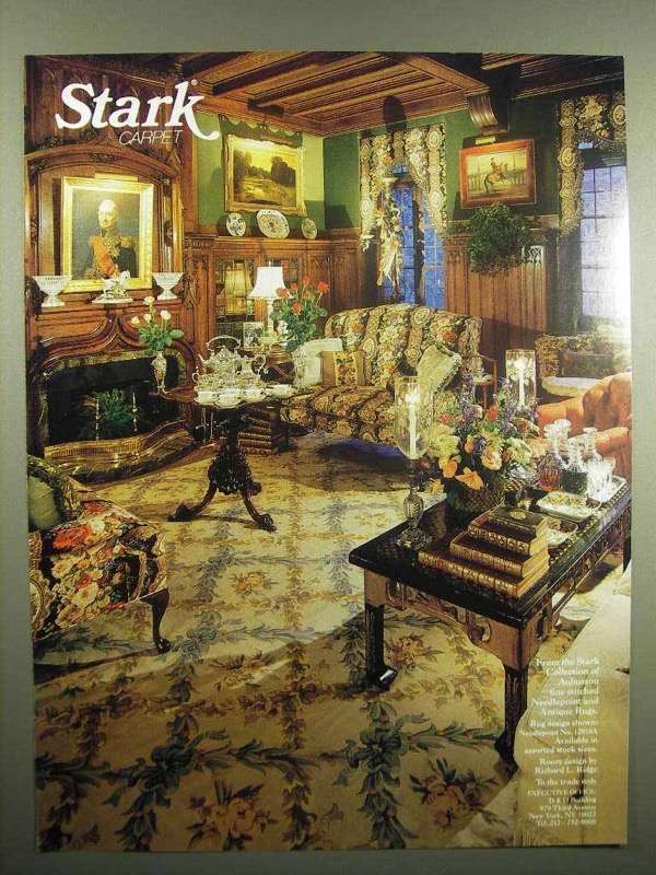 Primary image for 1992 Stark Carpet Ad