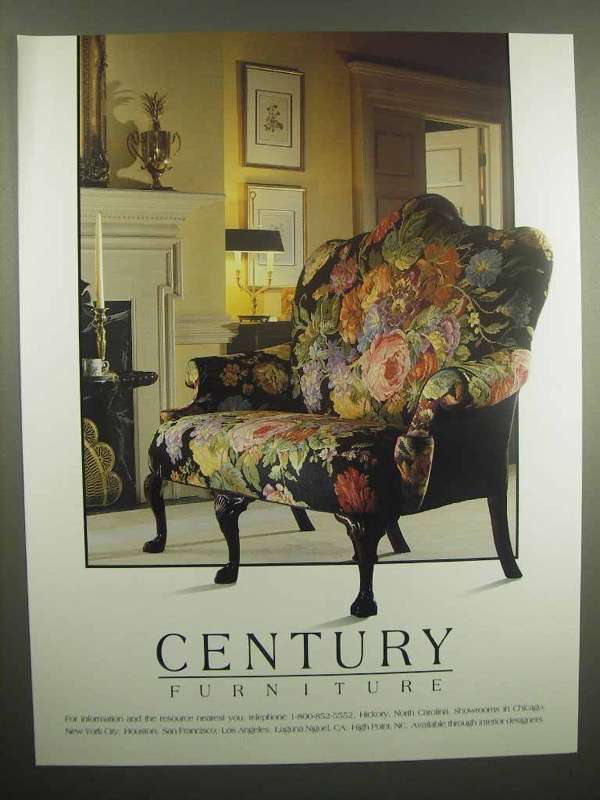 Primary image for 1992 Century Furniture Ad
