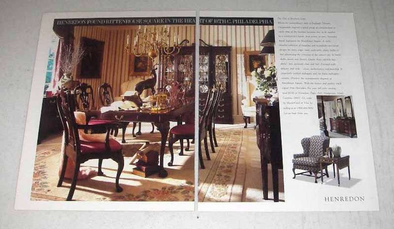 1992 Henredon Furniture Ad