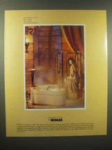 1989 Kohler Bathroom Fixtures Ad - The Bold Look of Kohler - $14.99