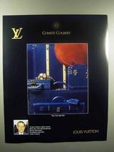 1989 Louis Vuitton Cuir Epi Luggage Line Ad - $14.99