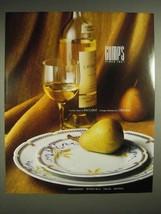 1988 Gump's Ad - Baccarat Optic Crystal, Ceralene - $14.99