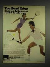 1980 AMF Edge Racquet Ad - The Head Edge - $14.99