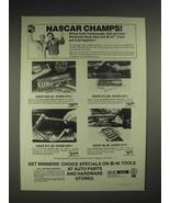 1977 S-K tools Ad - NASCAR Cale Yarborough, Herb Nab - $14.99