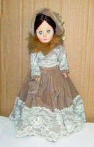 Effanbee-Grand-Dames-Downing-Square-Doll-Hard-P... - $16.95