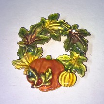 Kenneth Cole Fall Harvest Enamel Brooch Pin - $8.95