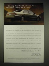 1997 Toyota Camry Ad - Making World a Safer Place - $14.99