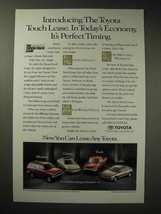 1994 Toyota 4Runner, Camry, Truck, Celica Car Ad - $14.99
