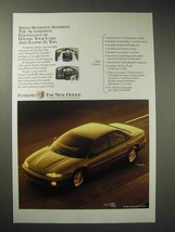 1994 Dodge Intrepid ES Car Ad, Speed Sensitive Steering - $14.99