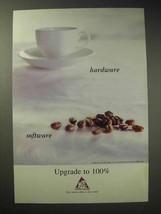 1998 Cafe de Columbia Coffee Ad - Hardware Software - $14.99
