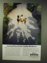 1998 Disney's Animal Kingdom Park Ad - Truly Alive - $14.99