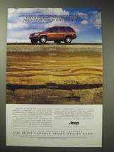 1999 Jeep Grand Cherokee Ad - Handle Everything Road - $14.99