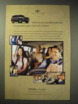 1998 Toyota Land Cruiser Ad - Guest from Each Continent - $14.99