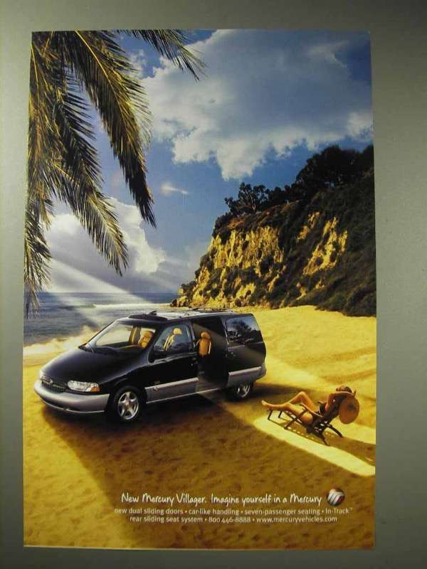 1998 Mercury Villager Minivan Ad - Imagine Yourself In