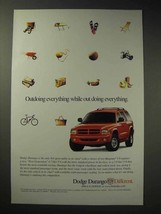 2000 Dodge Durango Ad - Outdoing Everything - $14.99