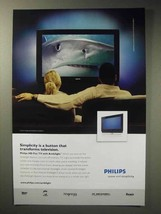 2006 Phillips HD Flat TV with Ambilight Ad - $14.99