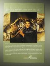 2001 Ford Motor Company Ad - Paul Sereno, Dinosaurs - $14.99