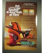 2001 TAP Prevacid Ad - Goodbye Great Balls of Fire - $14.99
