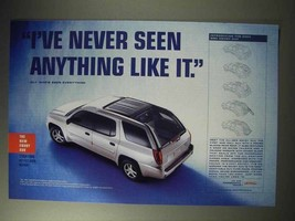 2004 GMC Envoy XUV Ad - Never Seen Anything Like It - $14.99