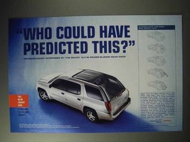 2004 GMC Envoy XUV Ad - Who Could Have Predicted This? - $14.99