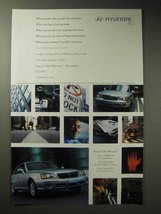 2003 Hyundai X350L Car Ad - Other People Into Your Lane - $14.99
