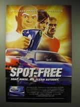 2004 Mr. Clean AutoDry Carwash Ad - Spot-Free - $14.99