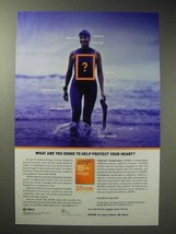 2004 Merck Zocor Ad - What You Doing to Protect Heart - $14.99