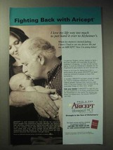 2004 Pfizer Aricept Ad - Fighting Back With Aricept - $14.99