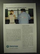 2004 Pfizer Lipitor Ad - Cholesterol all Shapes Sizes - $14.99