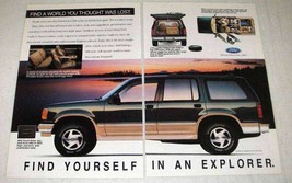 1993 Ford Explorer Ad - Find World You Thought Lost - $14.99