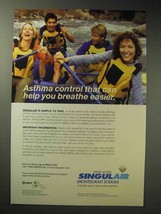 2004 Merck Singulair Ad - Asthma Control - $14.99